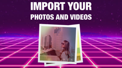 Import photos videos